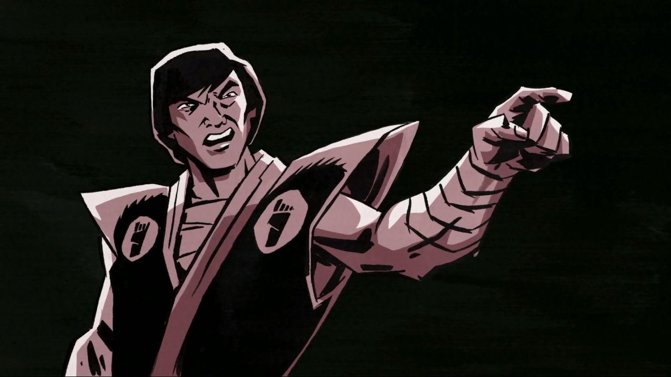 Oroku Saki Shredder Super Shredder Serie Tv 2012 Shredder