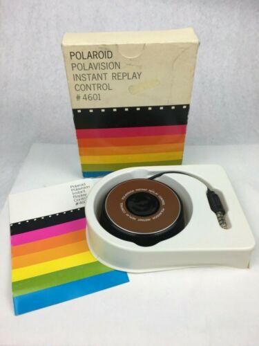 Vintage Polaroid Polavision Instant Replay Control 4601 In 2020 Vintage Polaroid Vintage Packaging Polaroid
