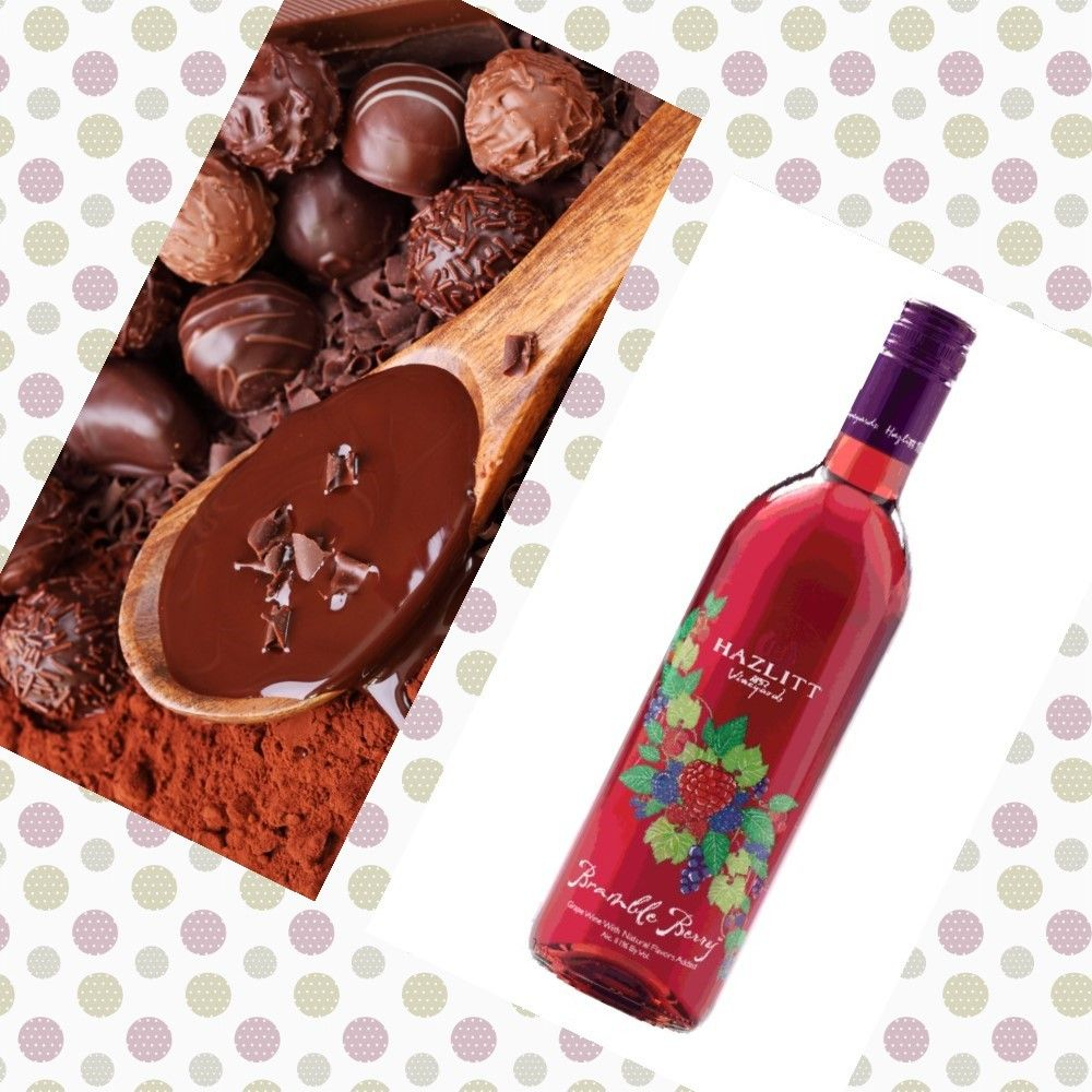 Bramble Berry Wine Chocolate Of Any Kind A Match Made In Heaven Yum Wine Food Pairing Wine Bottle Wine Recipes