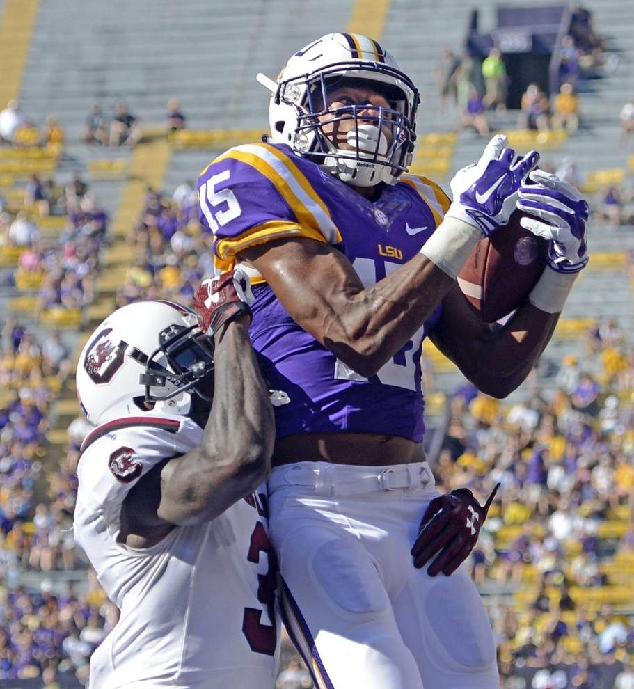 Lsu South Carolina The Advocate Images 2015 Google Search Lsu Tigers Football Tiger Football Lsu