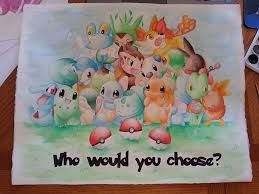 Watercolor pokemon painting - Google Search