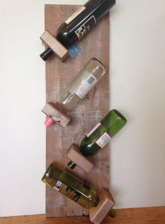 Rustic Wine Rack, reclaimed wood wine rack, wine rack, kitchen storage, wine storage, unique wine rack, painted wine rack, custom wine rack by CharmingCustomDesign on Etsy https://www.etsy.com/listing/462103266/rustic-wine-rack-reclaimed-wood-wine