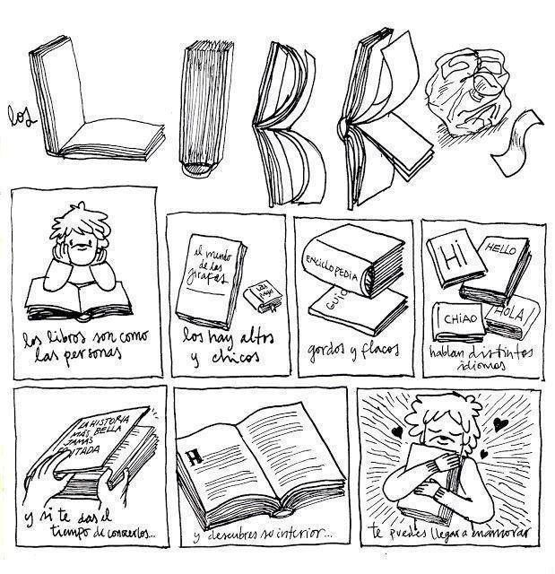 comic sobre bibliotecas - Buscar con Google | pensamientos sobre ...