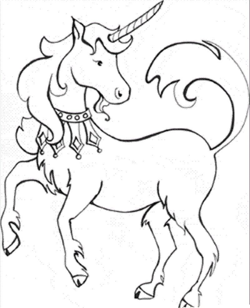 Free Unicorn Coloring Pages For Kids Unicorn Coloring Pages Animal Coloring Pages Horse Coloring Pages