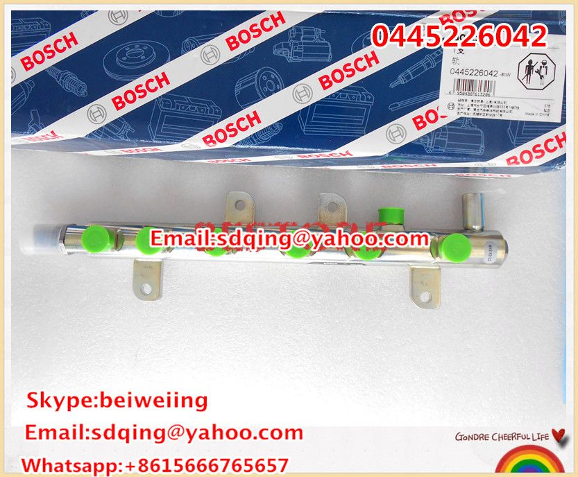 Genuine And New Common Rail Fuel Rail Assy 0445226042 3977530 Common Rail Replacement Parts Bosch