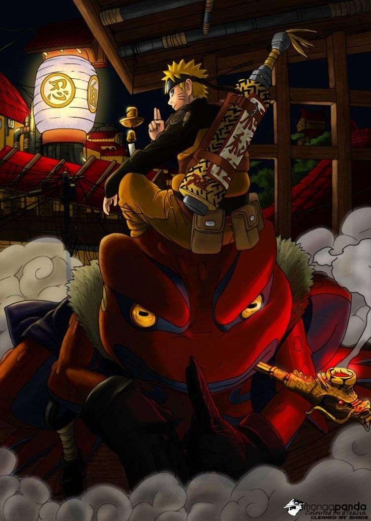 Naruto the toad sage and Gamakichi | Anime | Pinterest ...