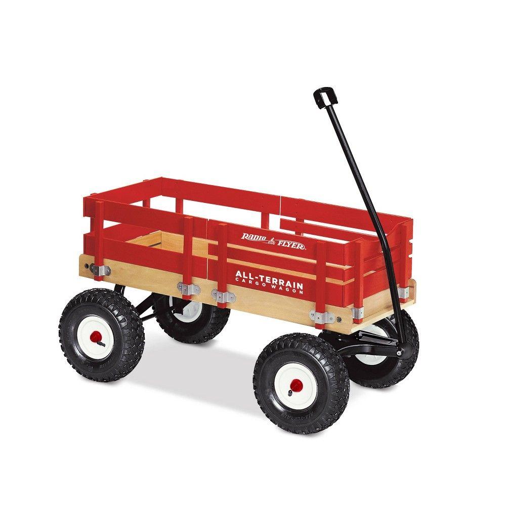 Radio Flyer All Terrain Cargo Wagon Red Radio Flyer Ride On