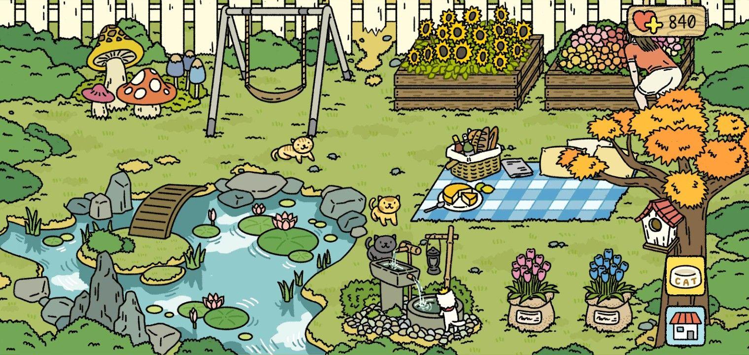 Aesthetic Adorable Home Garden Design