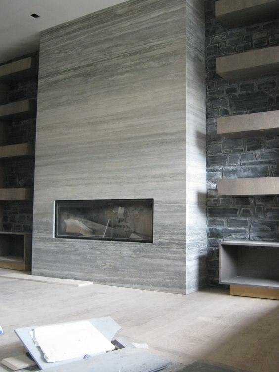 17 Modern Fireplace Tile Ideas Best Design Dream Home Dreamin