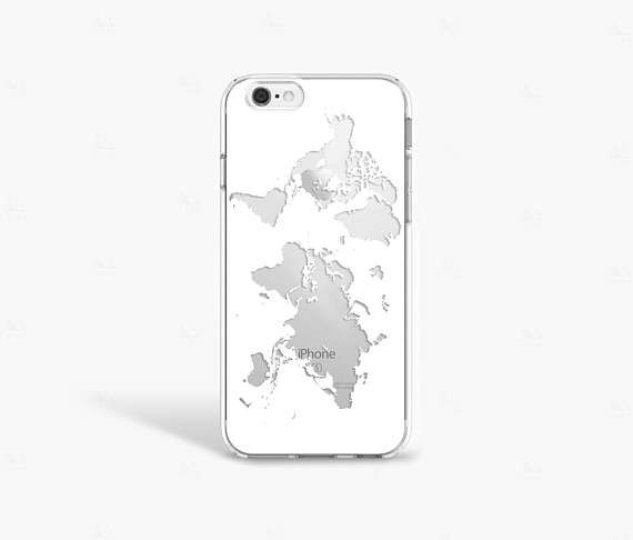 coque iphone 7 world map