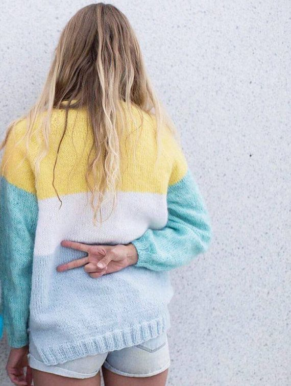 fb11ea92 Jubelgenser | Strikking | Genser, Strikkeoppskrift genser og Strikk