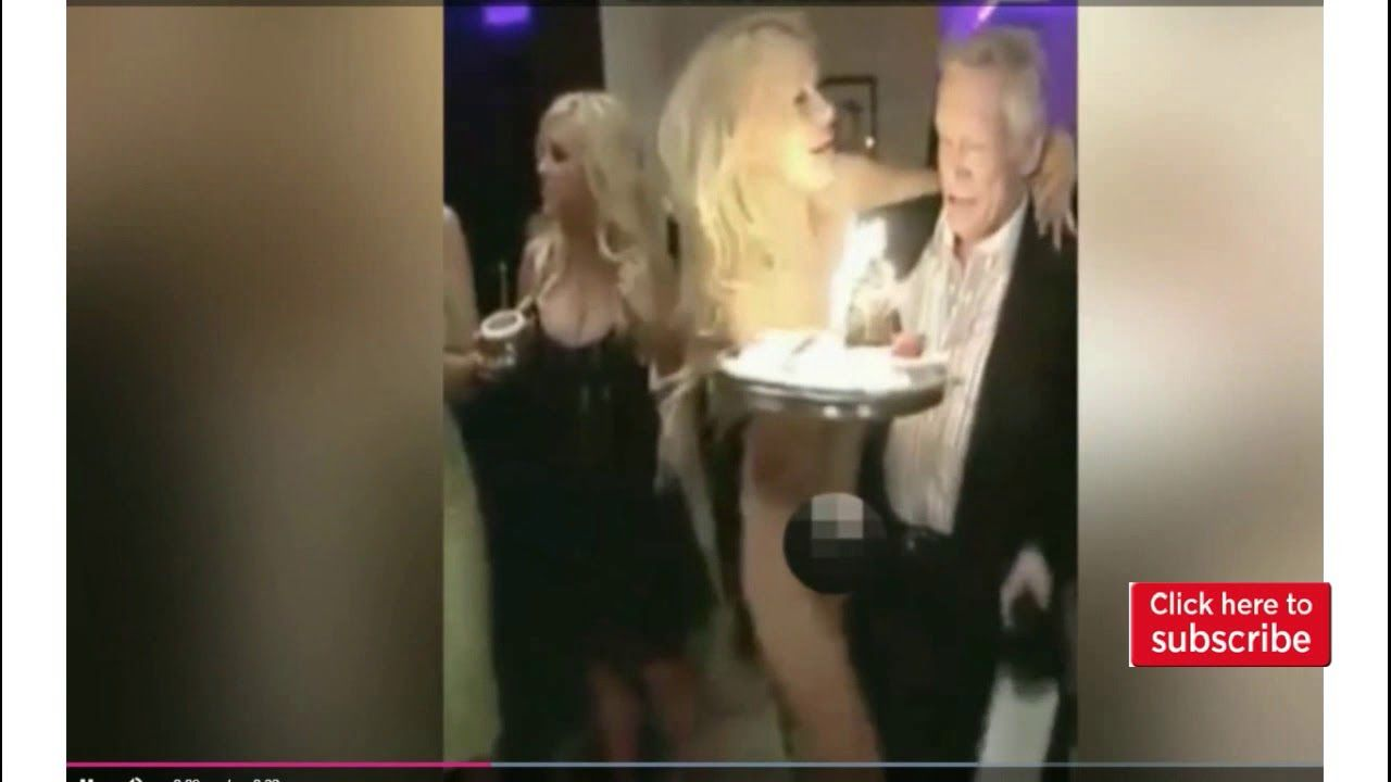 Double trouble? Hugh Hefners new Playmate twins on