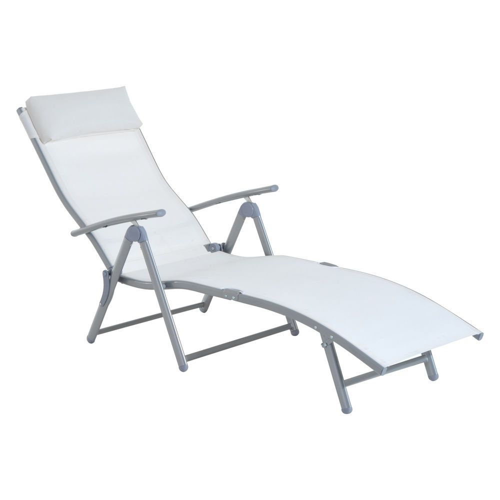 Portable Lounge Chair Cushion Christmas Covers Poundland Patio Chaise Steel Outdoor Reclining Furniture New Chaiseloungechairs