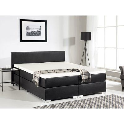 Brayden Studio Gaskill Upholstered Platform Bed With Mattress