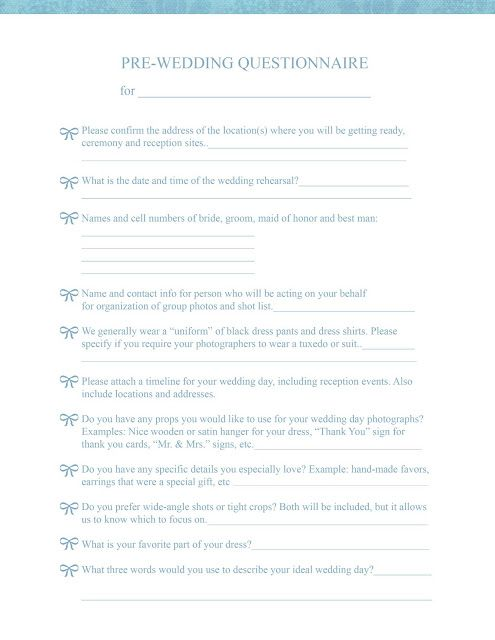 Wedding Planner Proposal Template Wedding Flower Order Form - wedding contract templates