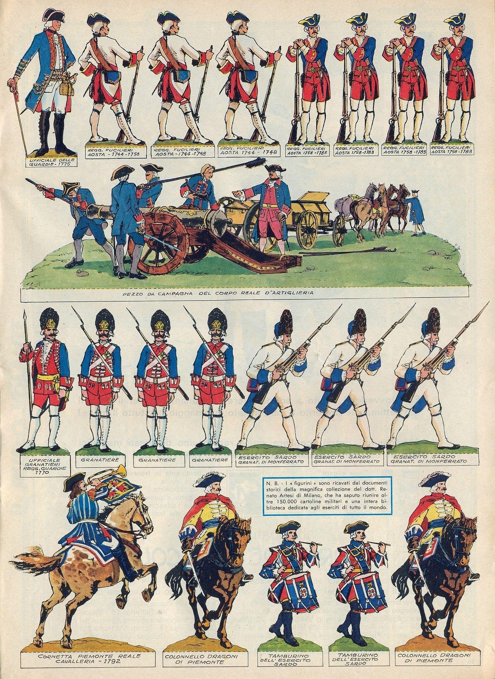 Cartina Militare Piemonte.Tratto Dal Nº 48 Del 29 Novembre 1964 Del Corriere Dei Piccoli Giocattoli Di Carta Uniformi Militari Giocattoli