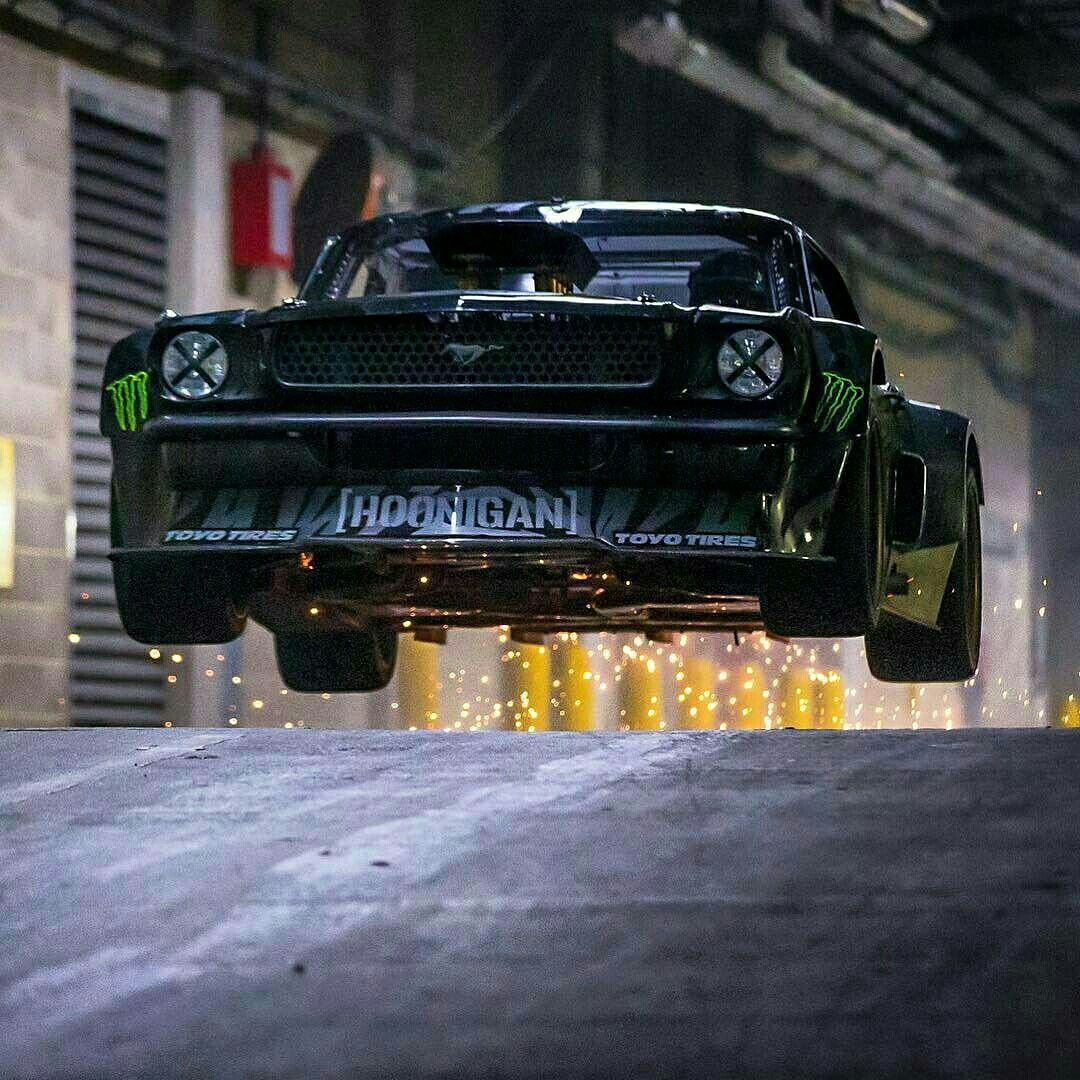 1965 Hoonicorn Rtr Mustang Notchback Ken Block 07 Ford Racing