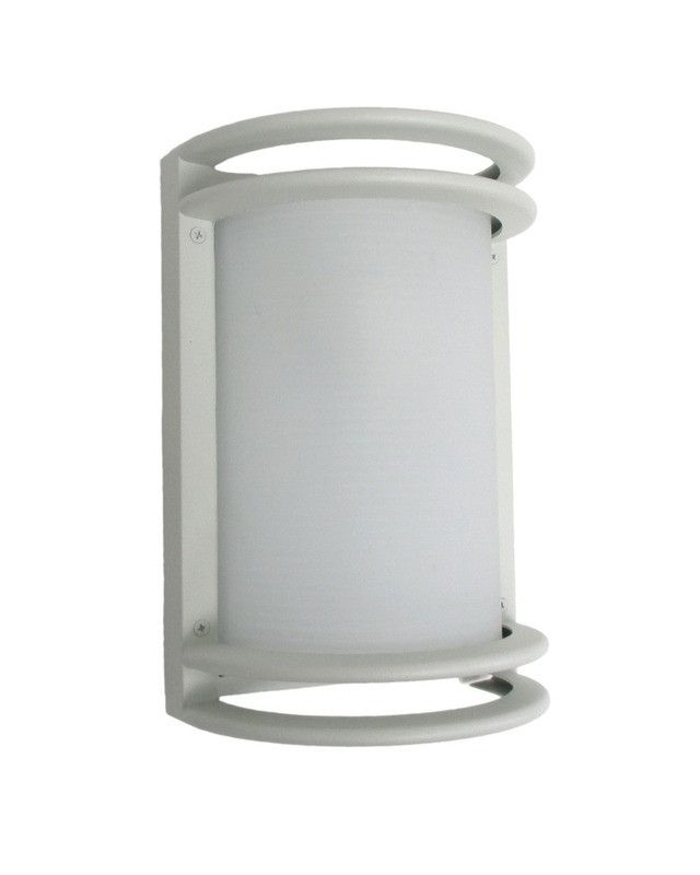 epiphany lighting 103354 wh one light cast aluminum outdoor exterior