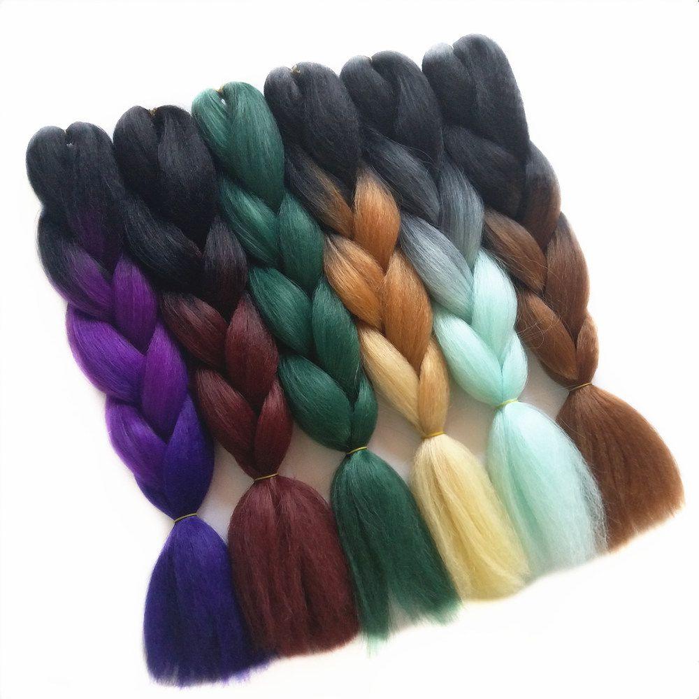 Feilimei braiding hair purple blonde synthetic jumbo braids g