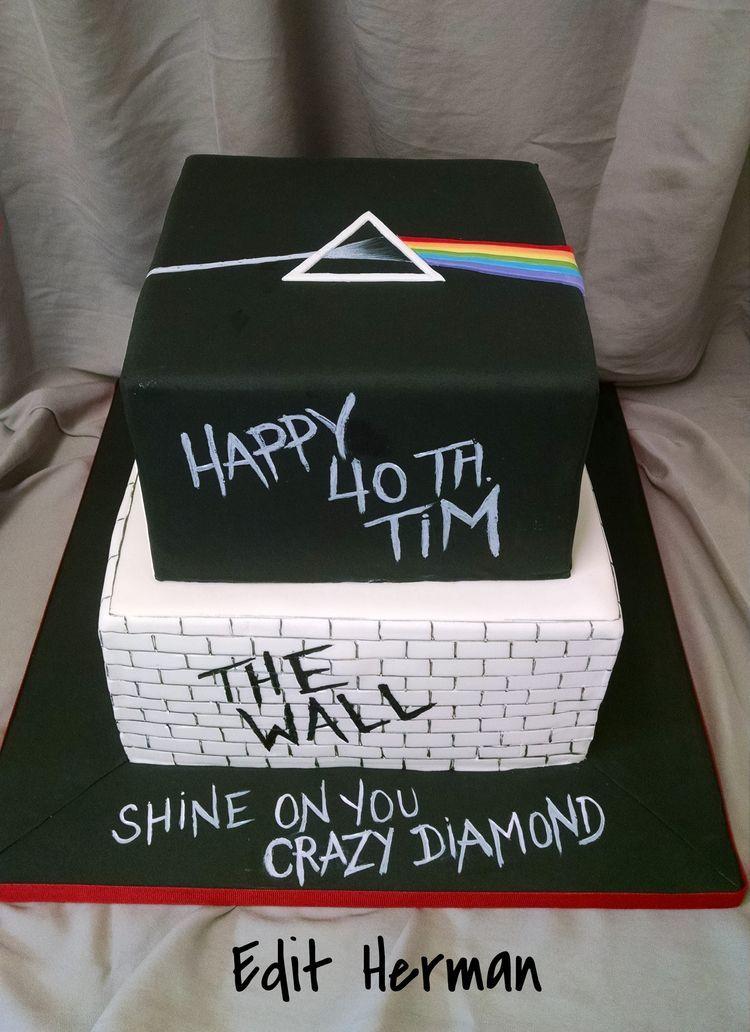 Pink Floyd Cake Cakes Iv Birthday Cakes For Men Music