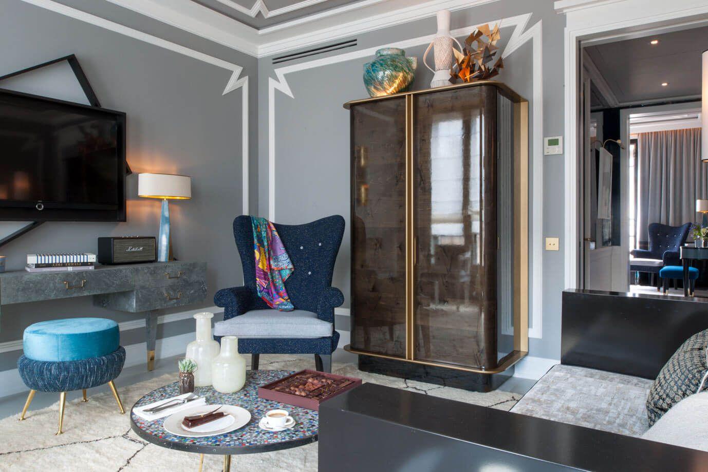 Binnenkijken in Hotel Nolinski Paris - Mixed Grill