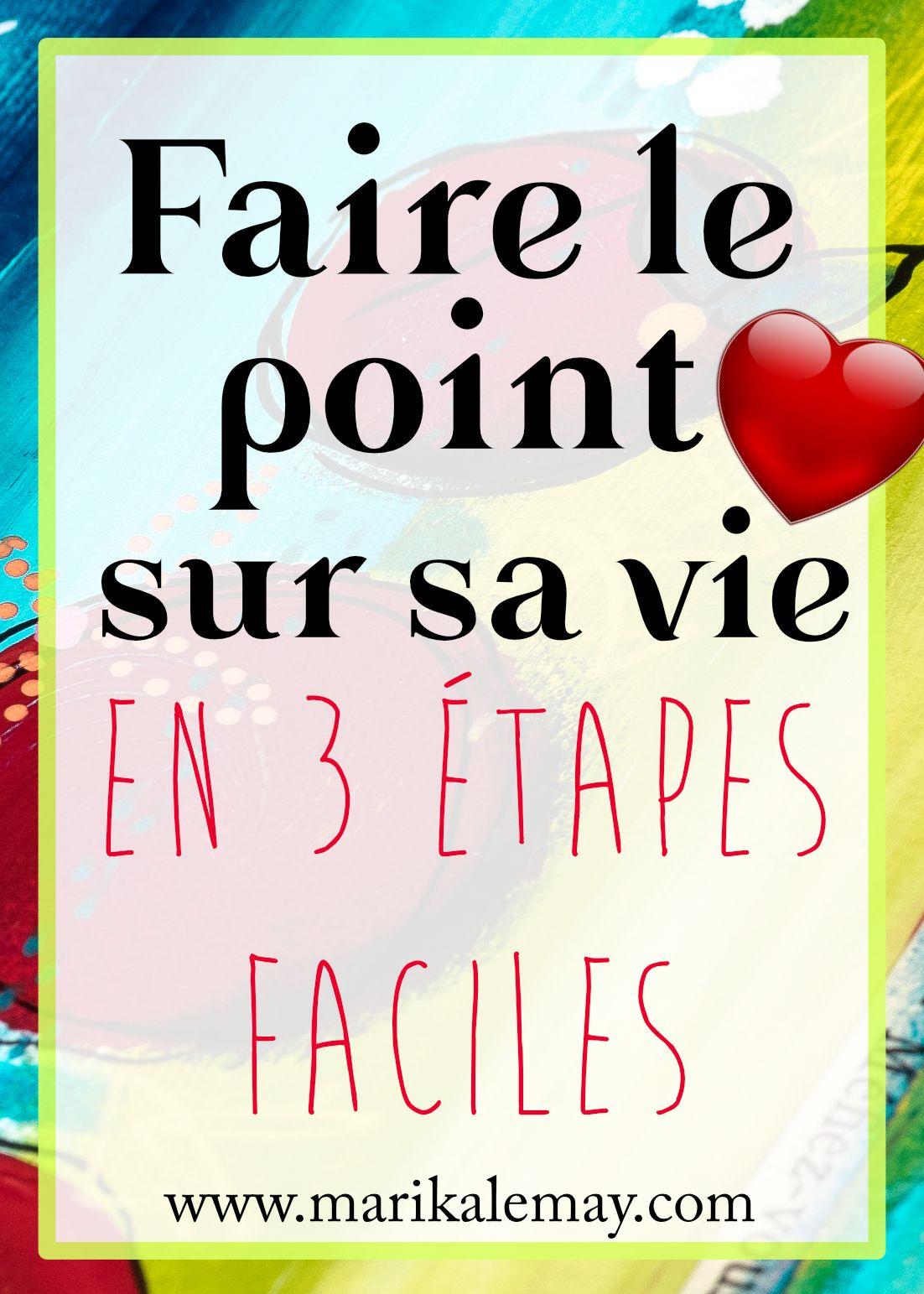 Faire Le Point Sur Sa Vie : faire, point, {Groupe}, Blogueurs, Francophones