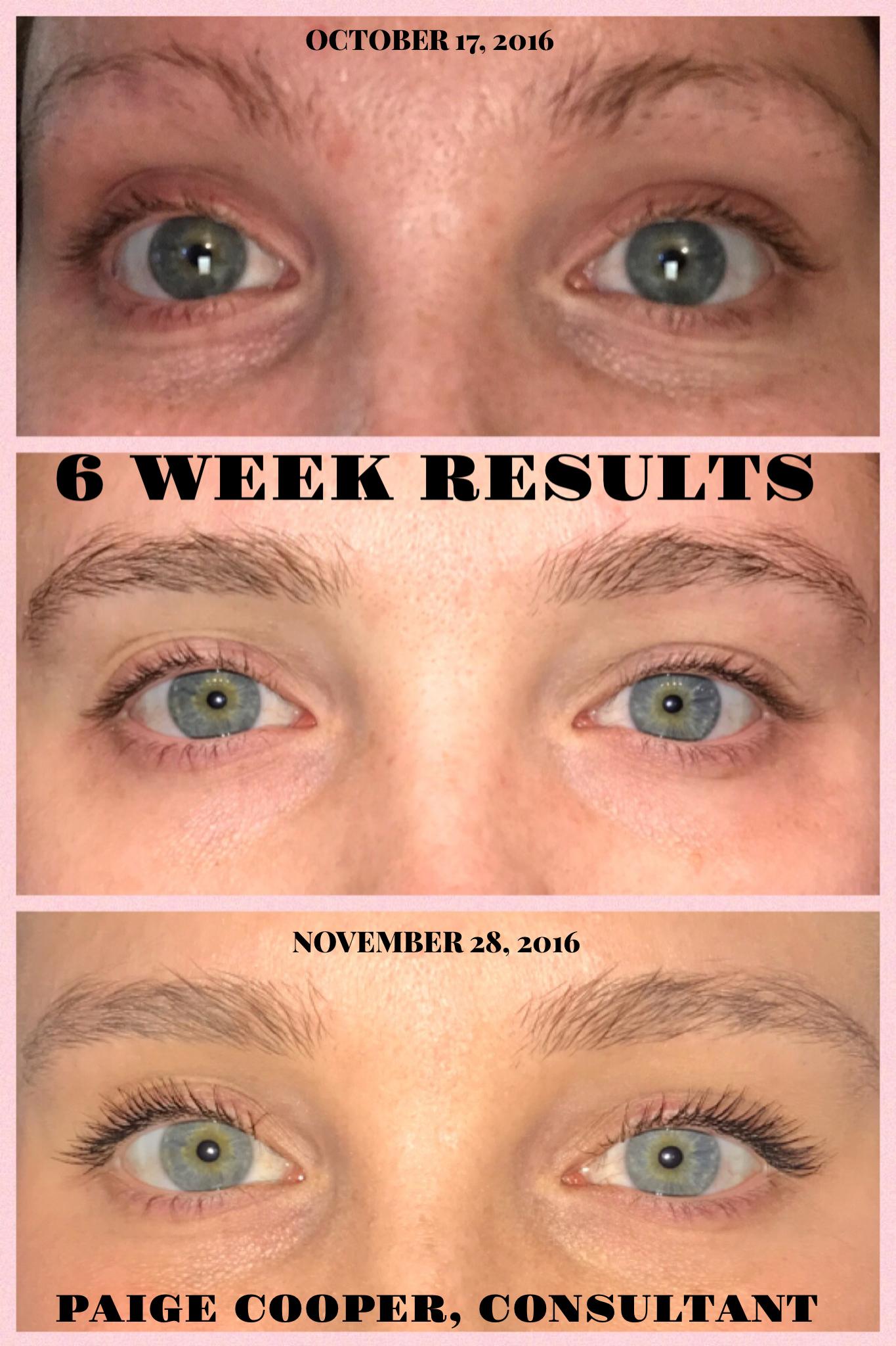 07af5ee36e6 LASH BOOST 6 WEEK RESULTS!!! Look at my eyebrows 😍 #rodanandfields  #RFLashBoost
