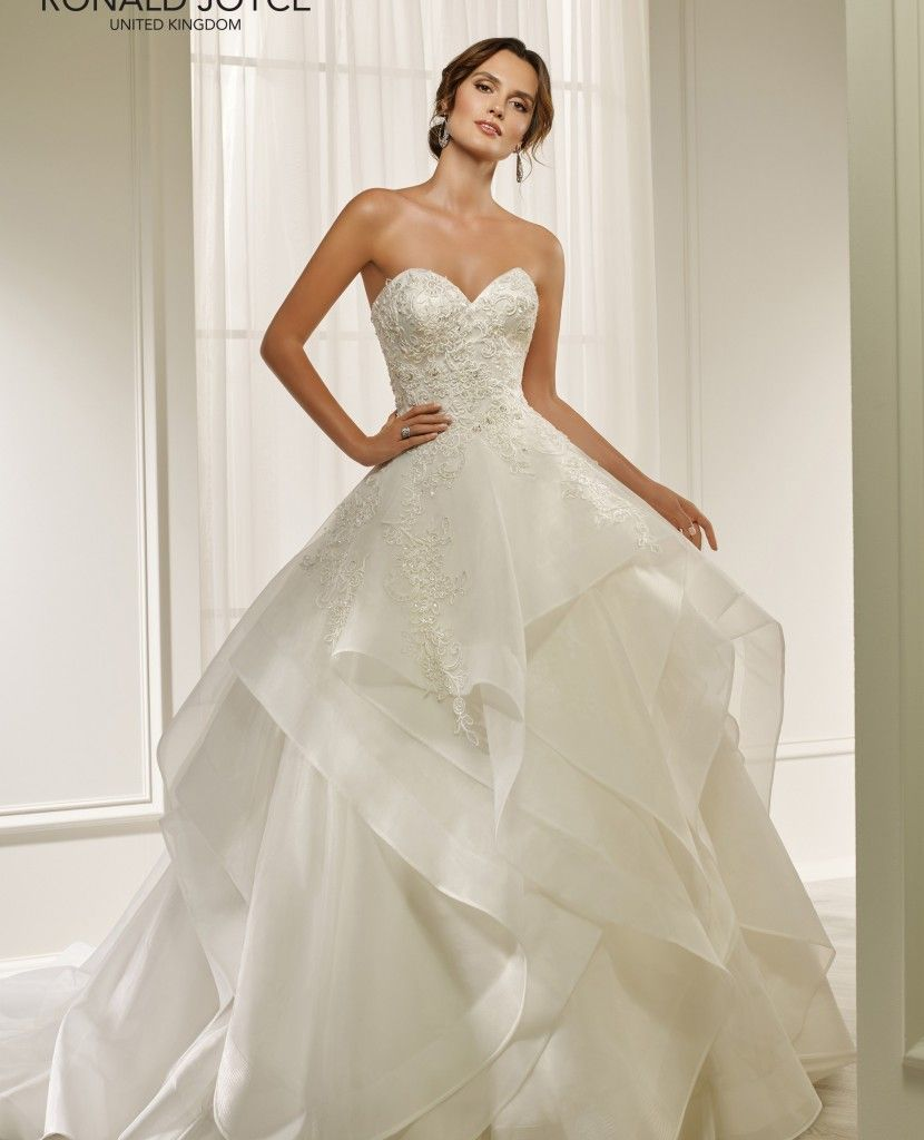 Ronald Joyce Harper 69203 Lula Ann Bridal A Line Wedding Dress A Line Wedding Dress Sweetheart Bridal Gowns [ 1024 x 830 Pixel ]