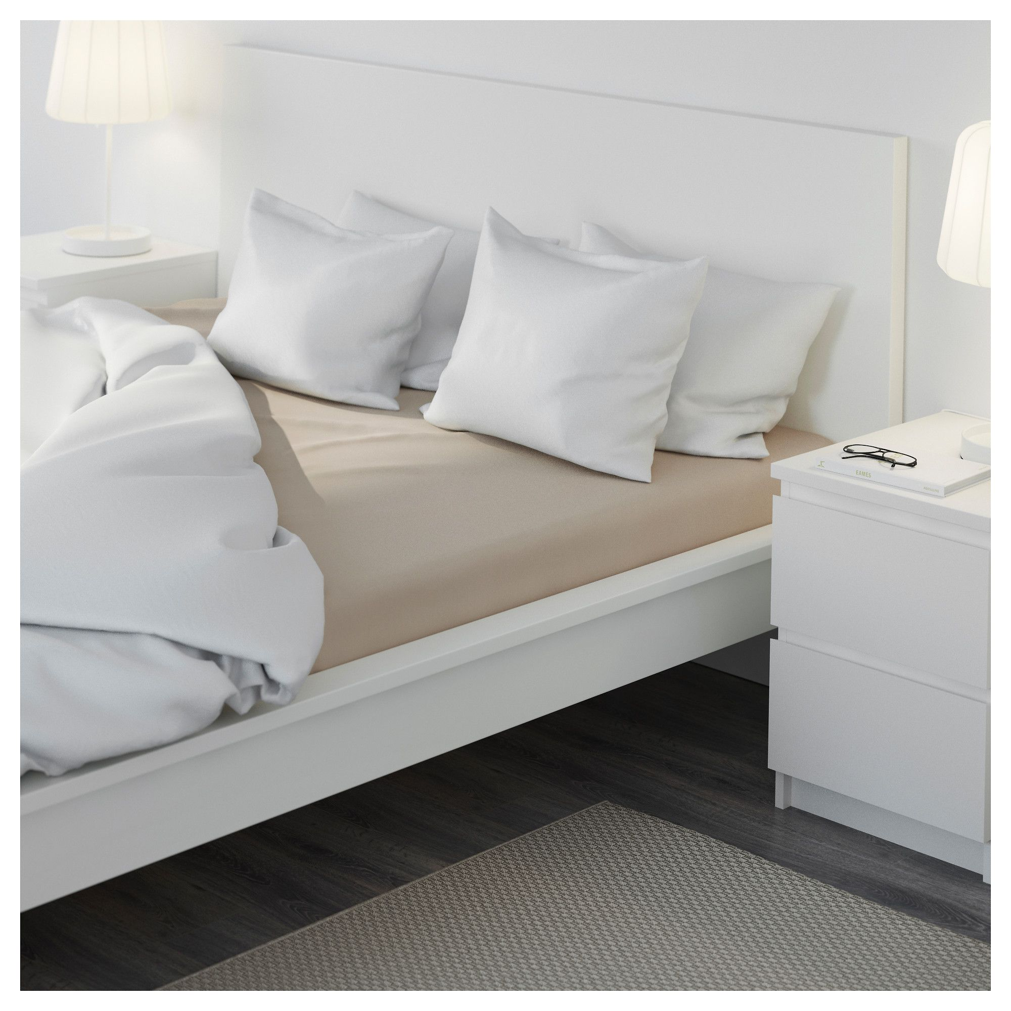 Best Malm Bed Frame High White Luröy Standard Double Malm 400 x 300