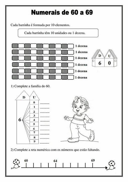 Atividade Aprendendo Os Numeros Volume 2 Atividades
