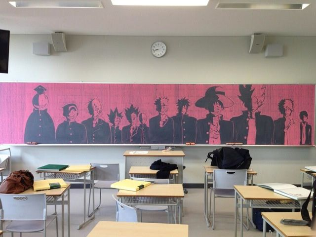 The Amazing Chalk Art Of Japanese Classrooms Blackboard Art Chalk Art Japanese Art