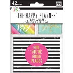 me my big ideas create 365 the happy planner mini pocket cards