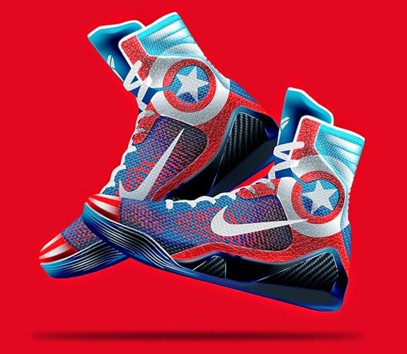 Sole4Souls Inc: Nike Kobe 9 Elite 'Marvel Avengers' Concept ...