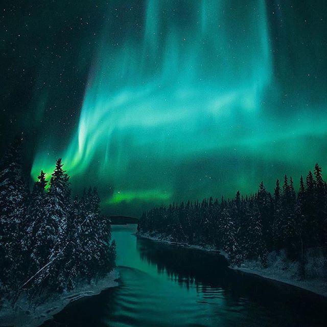 Aurora over Manitoba! * Photographer | @andre.brandt * #TC_andrebrandt * #TourCanada @tourcanada