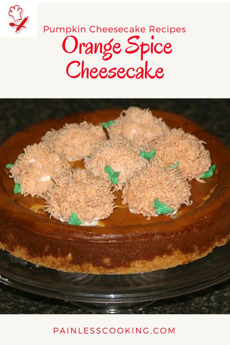 Pumpkin Cheesecake Recipes Pumpkin Cheesecake Recipes