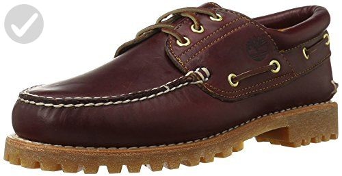 Timberland Men's Classic 3 Eye Lug Boat Shoe, M US: You've got places to be  and people to see, so you may as well impress from the ground up with these  ...