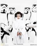 Starwars - Princess is rocking it!