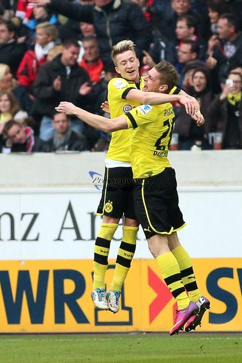 Marco Reus And Lukasz Piszczek Borussia Dortmund Dortmund Futebol