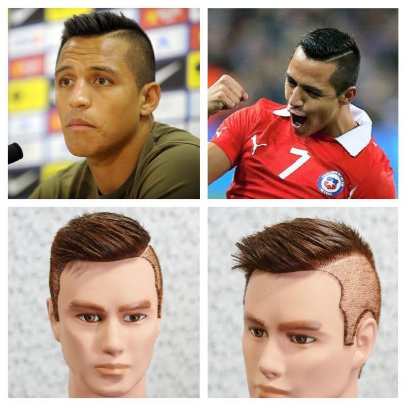 Alexis Sanchez Haircut Tutorial