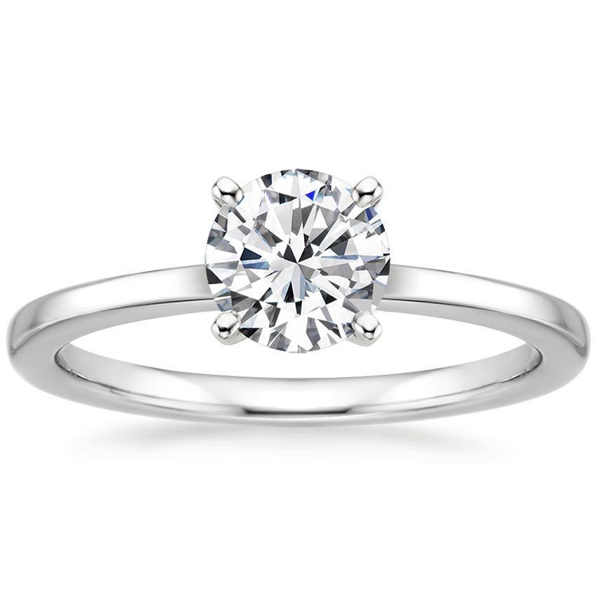 18K White Gold Petite Quattro Ring from Brilliant Earth