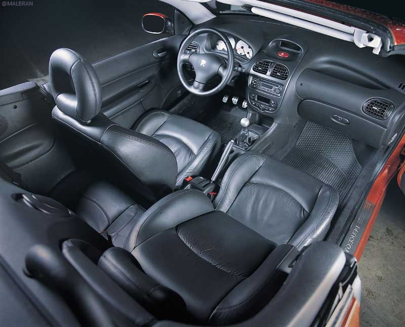 Peugeot 206 cc interior | Car\'s \'n Bikes | Pinterest