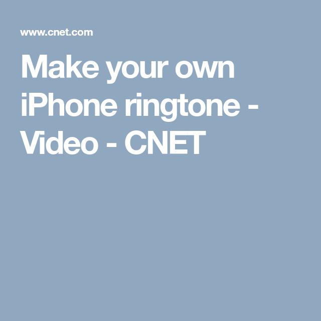 Pin On Make Iphone Ringtone