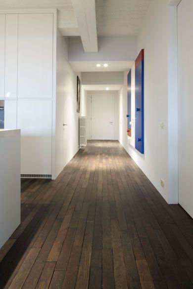 Aah i love the no frills parquet- Wooden floor, belgian style