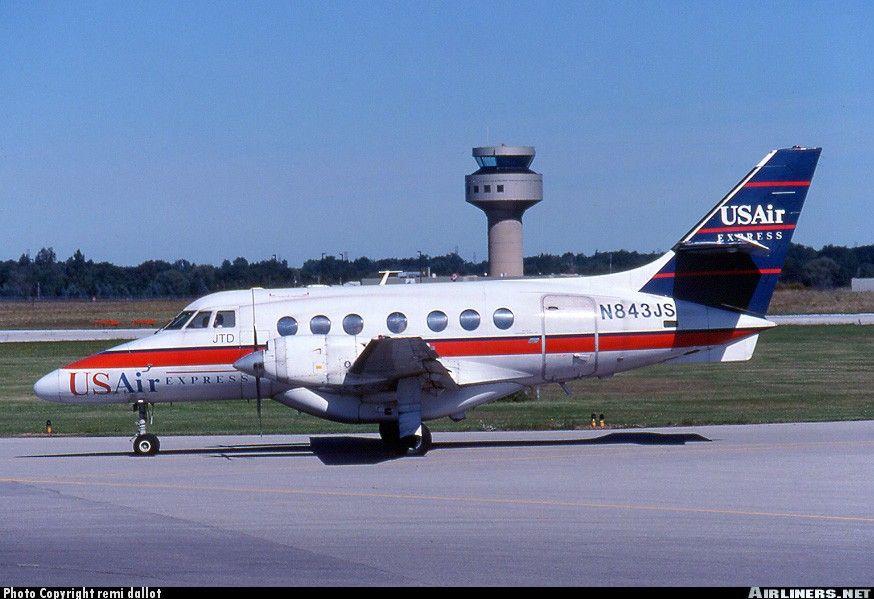 British Aerospace Bae 3101 Jetstream 31 Usair Express Chautauqua Airlines Aviation Photo 0184775 Airliners Net British Aerospace Chautauqua Airlines