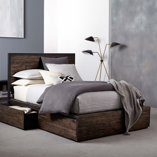 Pin On Wooden Bed With Storage