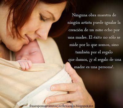 Frases De Una Madre A Hijo Primer Bebé Licencia De