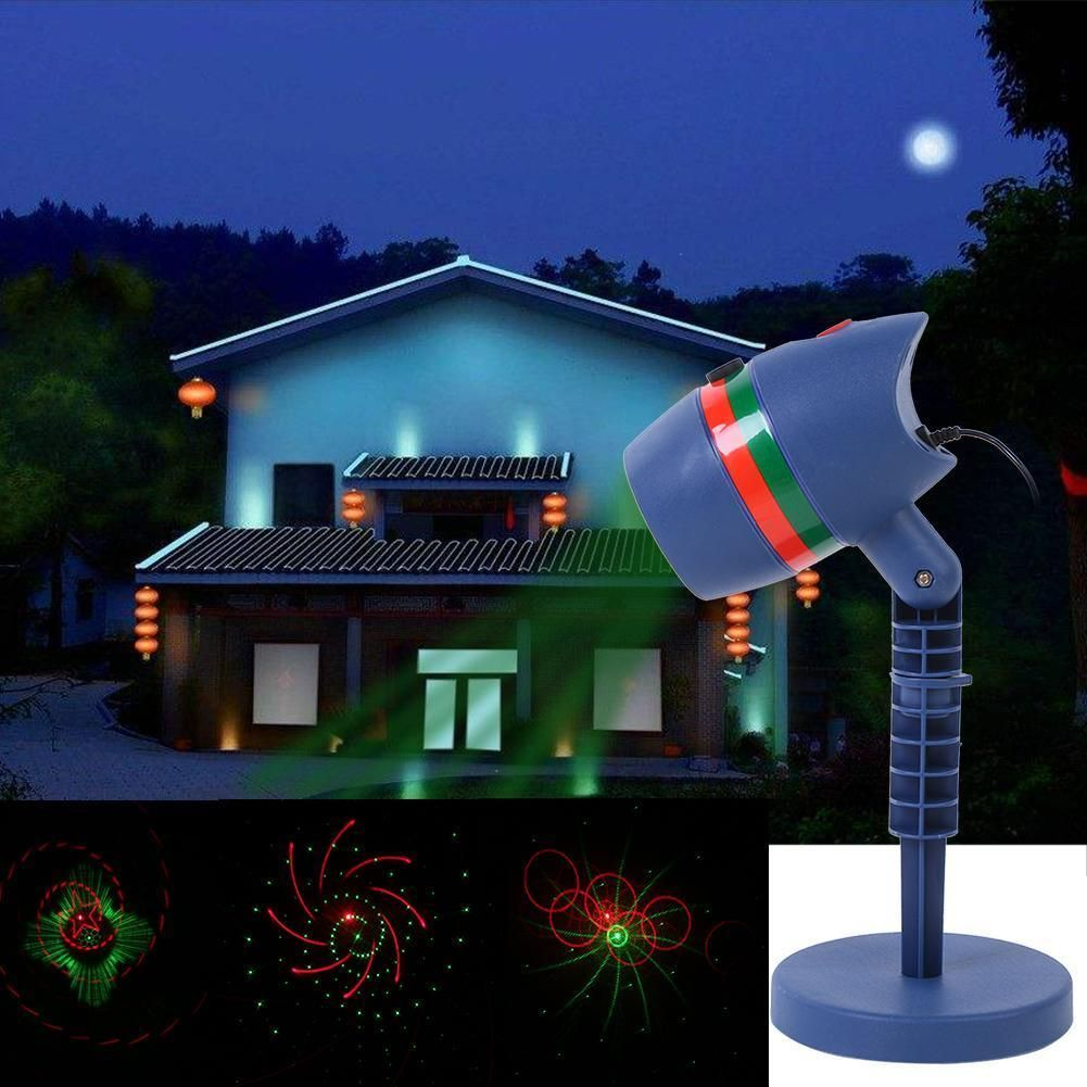 decolighting star laser christmas light show outdoor decorations waterproof landscape lighting
