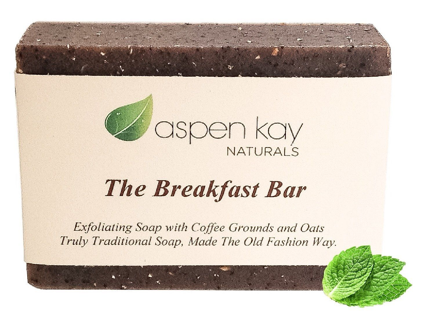 Coffee & Oatmeal Exfoliating Soap, 100 Natural and