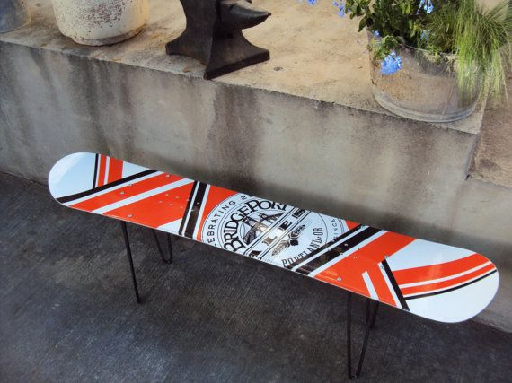 Snowboard Coffee Table Brewery FREE SHIPPING by