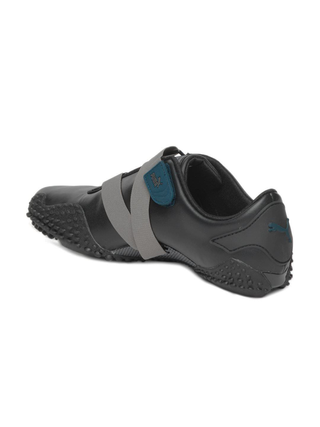 black mostro casual shoes myntra shoes